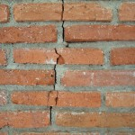 crack in a wall that needs a chartered surveyor