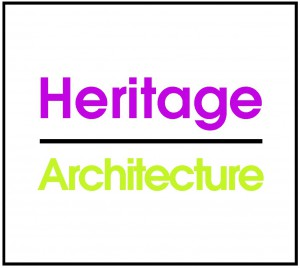 Heritage logo with border
