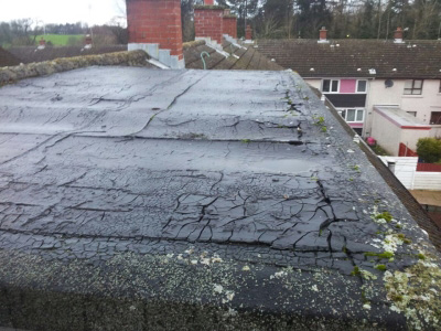 Flat roof problems