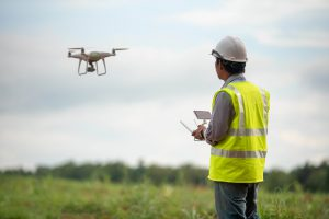 Building surveyor using a drone