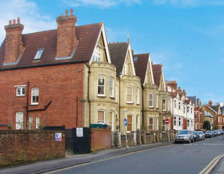 Houses in Dene Road, Guildford